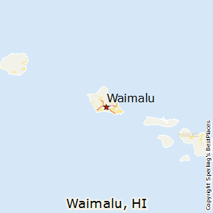 Waimalu,Hawaii Map