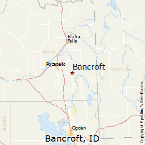 Bancroft,Idaho Map