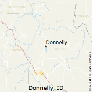 Donnelly,Idaho Map