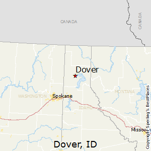 Dover,Idaho Map