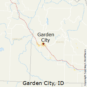 Garden_City,Idaho Map