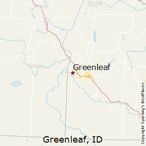 Greenleaf,Idaho Map