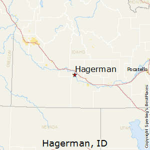 Hagerman,Idaho Map
