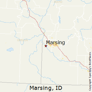 Marsing,Idaho Map
