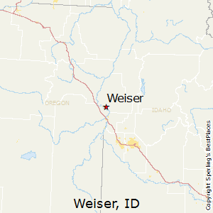 map of weiser idaho Best Places To Live In Weiser Idaho map of weiser idaho