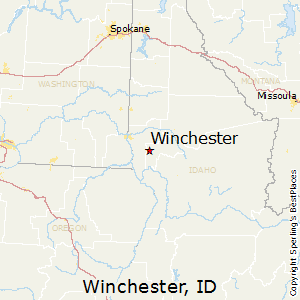 Winchester Idaho Map.Best Places To Live In Winchester Idaho