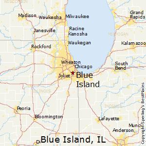 Decatur Illinois Map.Comparison Decatur Illinois Blue Island Illinois
