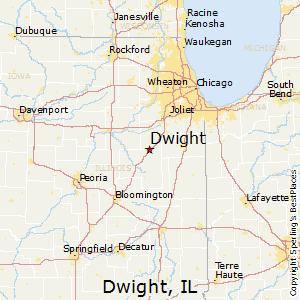 Streator Illinois Map.Comparison Streator Illinois Dwight Illinois