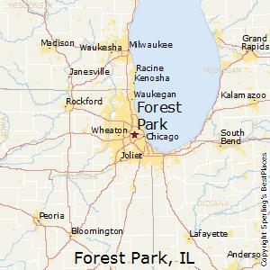 Oak Park Chicago Map.Comparison Oak Park Illinois Forest Park Illinois