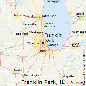 Franklin Park Illinois Map.Best Places To Live In Franklin Park Illinois