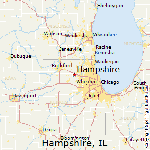Hampshire Illinois Map.Best Places To Live In Hampshire Illinois
