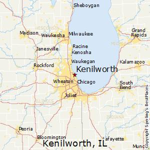 Comparison: Lake Forest, Illinois - Kenilworth, Illinois