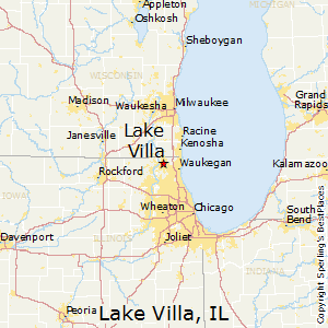 Lake_Villa,Illinois Map