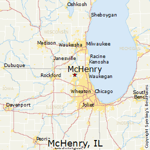 McHenry,Illinois Map