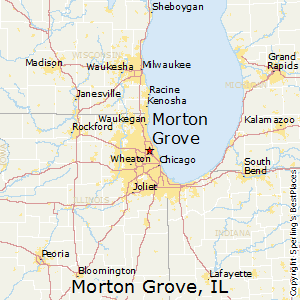 Morton_Grove,Illinois Map