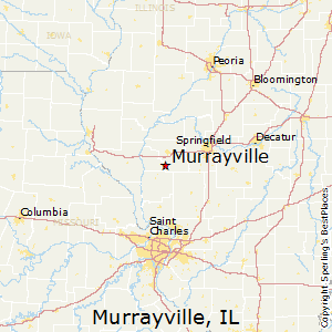 Murrayville,Illinois Map