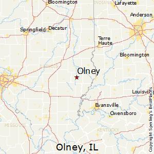 Evansville Illinois Map.Comparison Evansville Indiana Olney Illinois