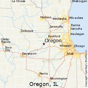Oregon Illinois Map Best Places to Live in Oregon, Illinois