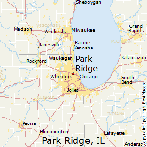Park_Ridge,Illinois Map