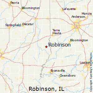 Robinson Illinois Map Best Places to Live in Robinson, Illinois
