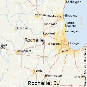 Rochelle Il Map Comparison: Rochelle, Illinois   Dixon, Illinois Rochelle Il Map