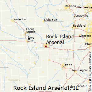 Rock Island Arsenal, Illinois Cost of Living