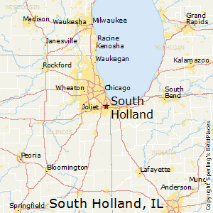 South_Holland,Illinois Map