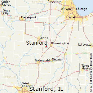 Stanford Zip Code Map.Best Places To Live In Stanford Illinois