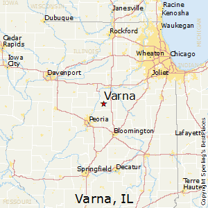Best Places To Live In Varna Illinois - Varna map