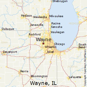 Comparison: Woodridge, Illinois   Wayne, Illinois