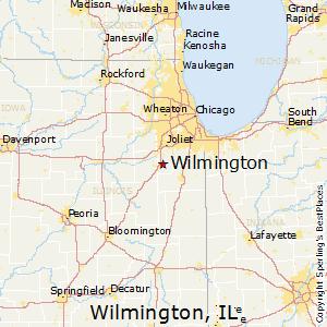 Streator Illinois Map.Comparison Wilmington Illinois Streator Illinois