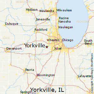 Yorkville Il Zip Code Map Yorkville, Illinois Religion