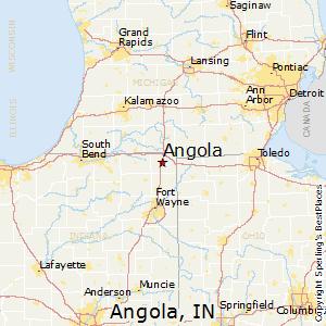 Comparison: Coldwater, Michigan   Angola, Indiana