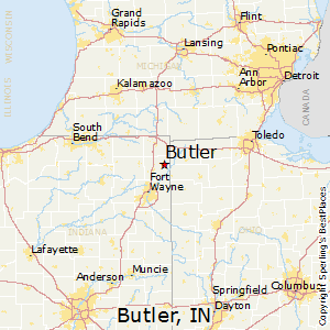 Butler, Indiana Cost of Living