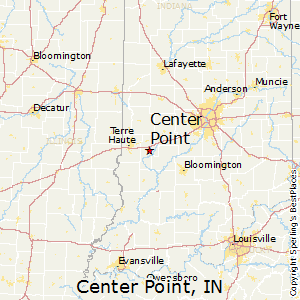 Center_Point,Indiana Map