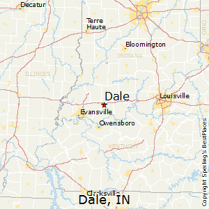 Dale,Indiana Map