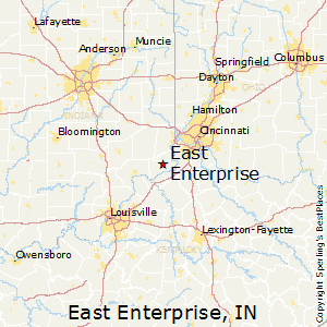 East_Enterprise,Indiana Map