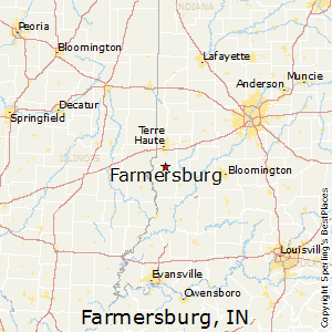 Farmersburg,Indiana Map