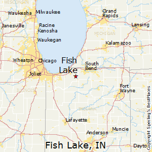 Best places to live in fish lake indiana for Fish lake indiana