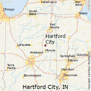 Hartford City Indiana Map.Best Places To Live In Hartford City Indiana