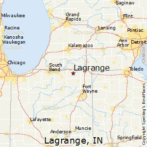 Howe Indiana Map.Lagrange Indiana Cost Of Living