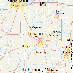 Comparison Lebanon Indiana Franklin Indiana
