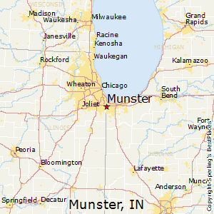 Munster Indiana Map Munster, Indiana Cost of Living