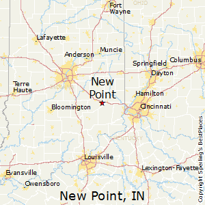 New_Point,Indiana Map