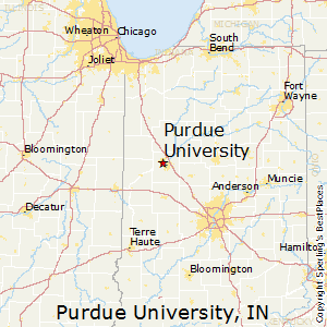 purdue_universityindiana map