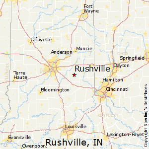 Gas City Indiana Map.Comparison Rushville Indiana Gas City Indiana