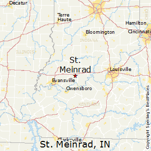St Meinrad Indiana Map.St Meinrad Indiana Climate