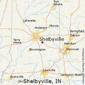 Comparison Shelbyville Indiana Rushville Indiana
