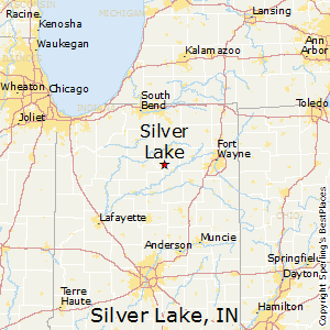 Silver_Lake,Indiana Map