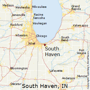 South_Haven,Indiana Map
